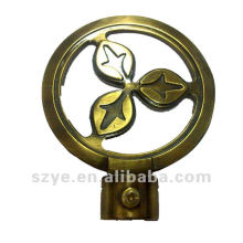 Elegant appearance cheap curtain rod finials for decoration